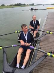 British Masters 2015 Andy Jaggard + John Lund