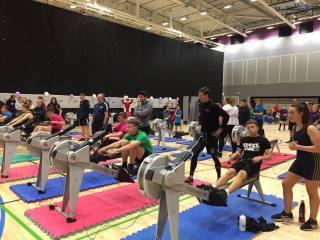 School Games Indoor Championships at Maiden Castle (County Durham Sport)