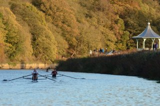 John Lyons MasD 1x on the Racecourse