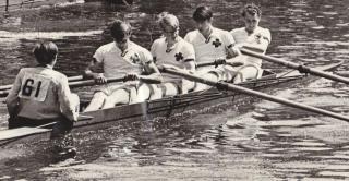 Durham Regatta 1966 crew