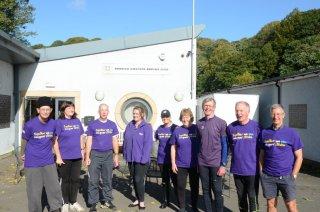 DARC GTR crews with Jo Beverley