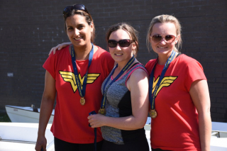 Red Hot Rowers (women's winners)
