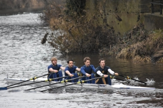 Durham ARC senior men\'s 4x- (Brad Knights, Nick Spong, Nicholas Baird, David Rutter)