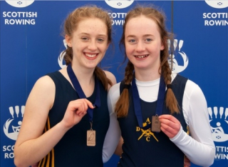 Libby Morris and Tilly Stoddard