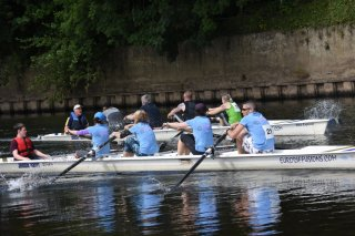 Oarsome Coresome get the better of IN-SINK