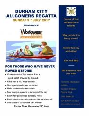 Allcomers 2017 leaflet