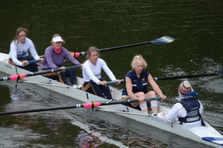 On the way to victory at Durham City Regatta 2013