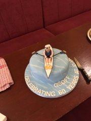 Geoff Graham 60th anniversary