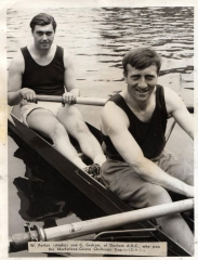 Bill Parker Geoff Graham Durham Regatta 1968