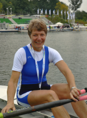 Gill Prescott with Poznan Gold