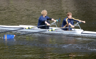 Joyce at Durham City Regatta