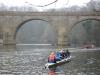 Recreational rowing near prebends bridge 2013