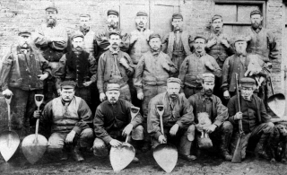 Coal Trimmers Blyth 1894