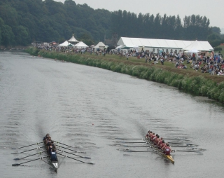 Durham Regatta eights