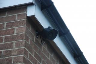 Webcam amateur wall