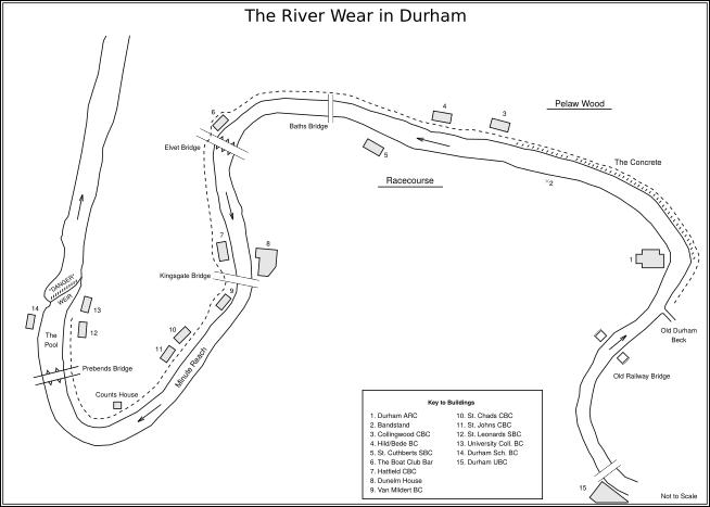 River Wear in Durham