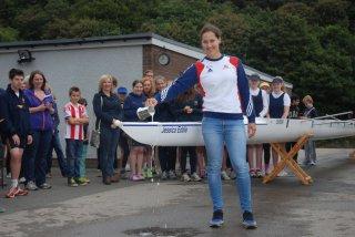 Jessica Eddie boat launch