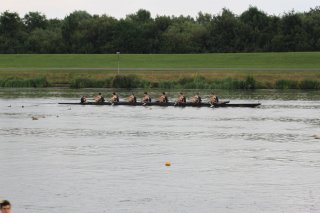 Winning Junior Eight racing