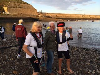 Gene and Debbie at Tynemouth