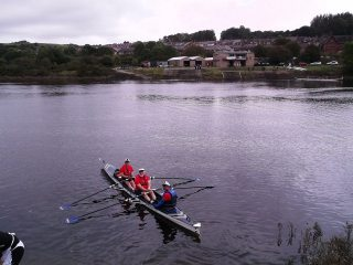 3 into 2 will row setting off from Newburn