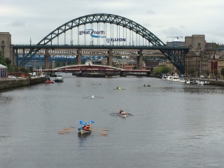 Passing the Quayside