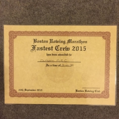 Boston 2015 certificate