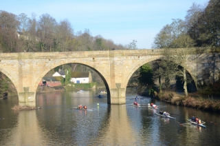 Marshalling at Prebends Bridge