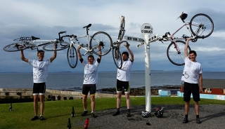 Finish at John O'Groats