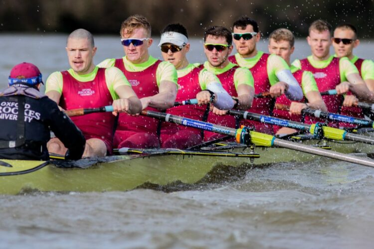 Alumni success in Boat Race series