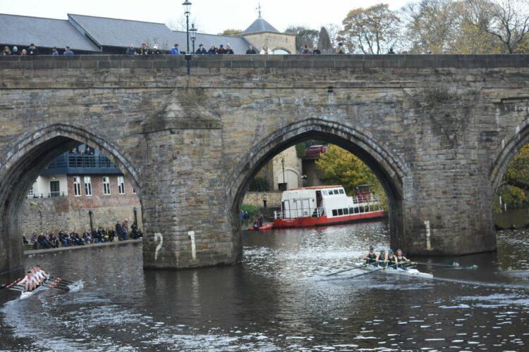 Durham Autumn Small Boats Head 2021
