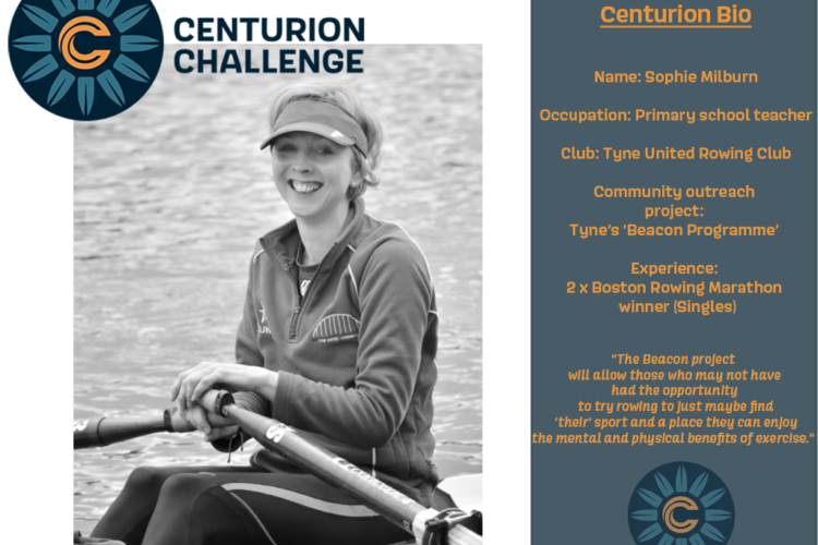 Joyce is supporting Sophie in the Centurion Challenge