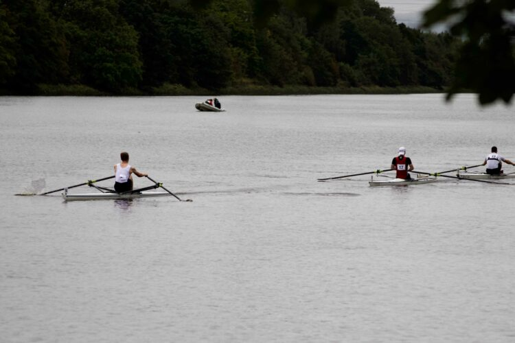 Scullers face test on the Tyne